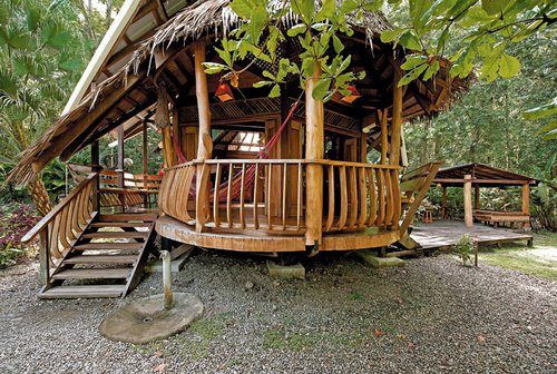 Costa Rica Treehouse Lodge met jacuzzi